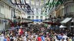 Malagueños y visitantes aprueban la Feria de Málaga con un 5,8 de media