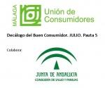 Decálogo del Buen Consumidor. Quinta Publicación