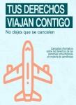 Publicamos folleto con información básica sobre reclamaciones al sector aéreo