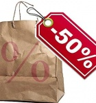 El gasto previsto de los malagueños en rebajas será de 50 euros y destinado principalmente a ropa